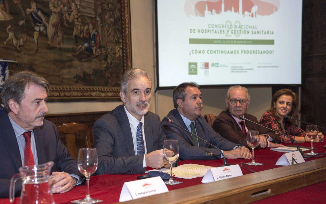 Sevilla acogerá el XX Congreso de Gestión Sanitaria